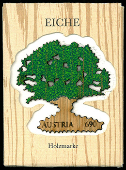 木製・樹形切手の登場
