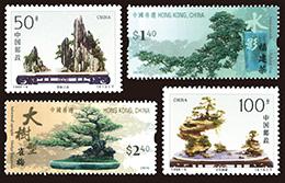 盆栽 中国