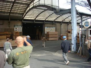 吉野材センターの入口