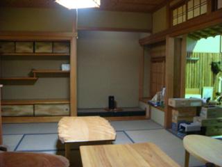 吉野林材振興センター展示館の和室
